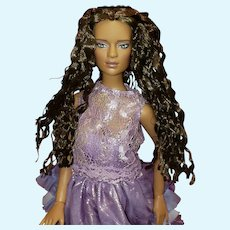 "Tonner 16"" 2011 PARTY ALL NIGHT JON DOLL Jonquil Parker LE125 African American"