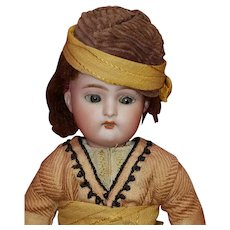 "Cute Antique 11"" Bisque Head K*R Doll in Ethnic Costume"