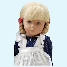 """Beautiful Vintage 18"""" Kathe Kruse Girl Doll from Germany with Box"""
