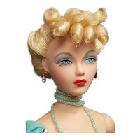 Lovely Gene Marshall Fashion Doll dressed in Blue Goddess