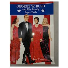 Paper Dolls by Tom Tierney Presidential Family George Bush (Junior)