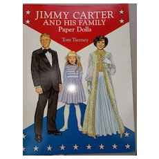 Paper Dolls by Tom Tierney Presidential Family Jimmy Carter