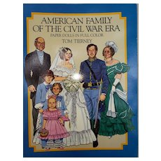 Paper Dolls by Tom Tierney Civil War Family