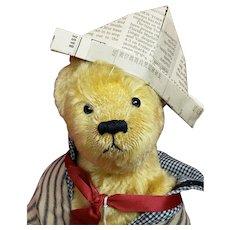 """Cute 15"""" Artist Teddy Bear by Bear Essentials"""