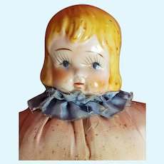 1920's Carnival Doll with China Head
