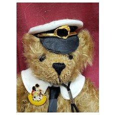 Merrythought Titanic Rescue Teddy Bear England From Walt Disney Doll & Teddy Bear Festival