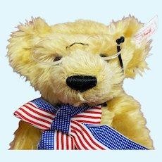 """Steiff 11"""" Teddy's Bear LE 7500 with White Tage"""
