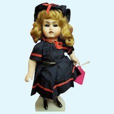 "Cute 9"" All Bisque Reproduction dressed in Period Swimsuit - Adorable!!"