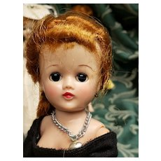 Vintage Vogue Redhead Ponytail Jill Doll in Record Hop Skirt