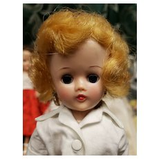 Vintage Vogue Blonde Jill Doll in Jeans & Blouse