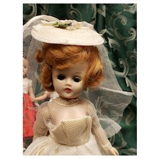 Vintage Vogue Blonde Jill Doll in Bridal Gown