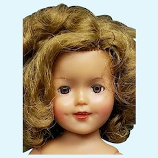 """Vintage Ideal 1957 12"""" Shirley Temple Doll Nude"""