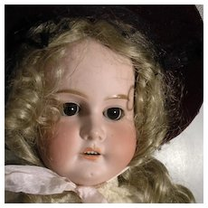 Very Pretty German Doll Incised Mabel