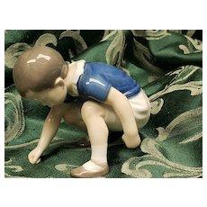 Bing & Grondahl B & G Copenhagen Porcelain Dickie Boy Figure #1636