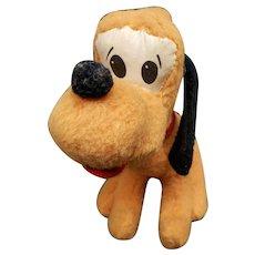 "Vintage 1976 Knickerbocker Disney Pluto Stuffed Plush 10"" Dog"