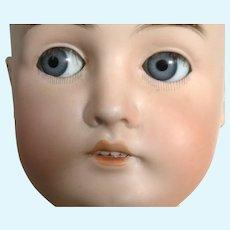 25' German Doll By Carl Hartmann With Flirty Eyes