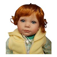 "Adorable 19"" Baby Annabelle Baby Doll w Box A Day in the Sun w Gorbie Timmerman"