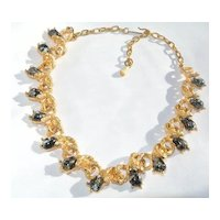 Vintage Designer Judy Lee Necklace 1950's