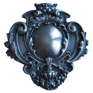 Sterling Repousse Pin Victorian William Kerr