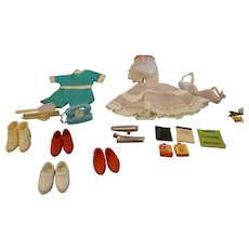 Vintage Tammy assorted clothing and accessory lot doll clothes