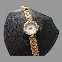 Vintage Bullova Womens Watch with Diamonds