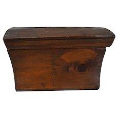 Vintage Folk Art wood amish hand made box
