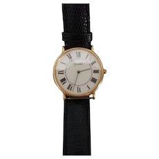 Piaget Classic 18 Karat Gold 18 jewels manual Unisex Watch 1980-1989