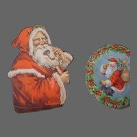 Vintage Christmas  Santa Die cuts group