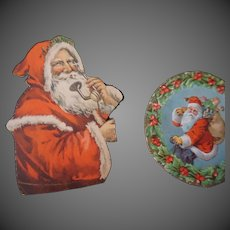 Vintage Christmas  Santa Die cuts group