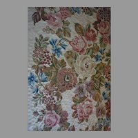 Artistic Hand Made wollen chain Stitch Rug 6x9 FT