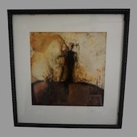 Original Encaustic Painting signed
