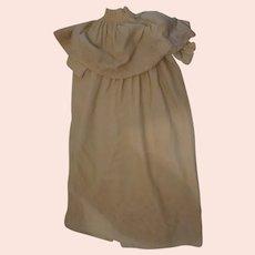 Antique Art Nouveau childs postmortem Bereavement gown