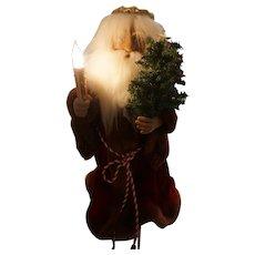 "The Original  Motionettes of Christmas.. 24"" SANTA Display Figure Vintage WORKS"