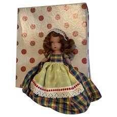 Vintage 161 Nancy Ann Storybook Doll Bisque Jennie Set The Table in box