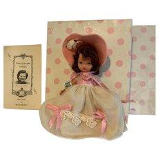 Vintage Nancy Ann Storybook Doll ~ #160 Pretty Maid w/Box & wrist tag