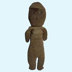 Antique Folk Americana hand made cloth Doll