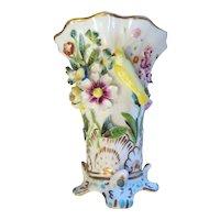 Antique Porcelain VASE English, Copeland And Garrett Victorian Circa 1840