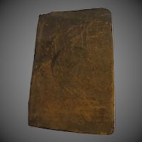 Antique 1810 leather bound Bible New testament