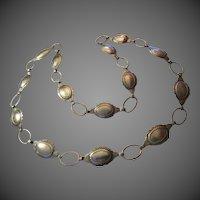 Vintage Silver native American Indian Belt southwest Design
