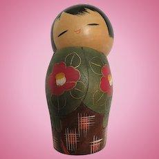 Vintage Beautiful Japanese Kokishi Doll