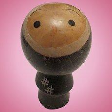 Vintage Wood Japanese Kokishi Doll