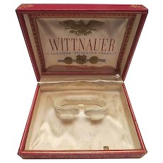 Vintage Wittnauer Watch Box
