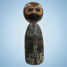Vintage hand crafted KOKESHI  DOLL  Character