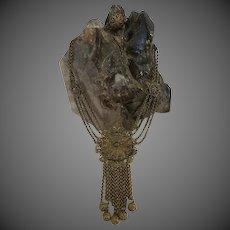 Antique Ornate Metal Gypsy Necklace