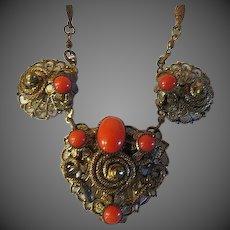 Antique victorian Gypsy Necklace
