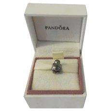 .925 Pandora Sterling Silver Penguin Charm