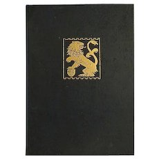 Vintage The bronze lion 1925 yearbook chicago art institute BOOK :RARE