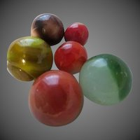 Antique Glass Marbles
