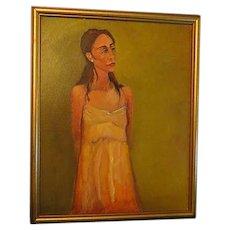 Original Oil Painting womans portrait