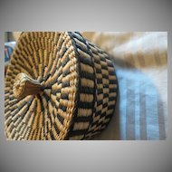 Beautiful Hand weaved Folk Art Basket